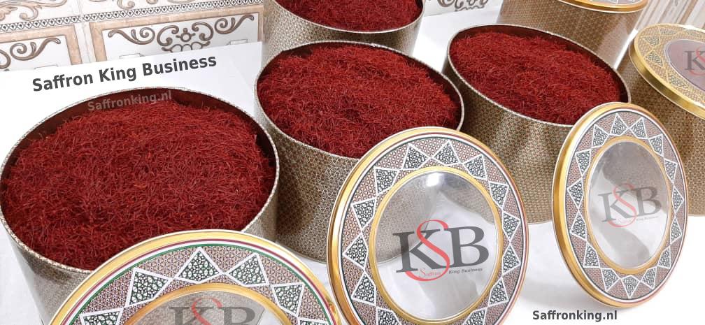 What is the price of one kilo of saffron?