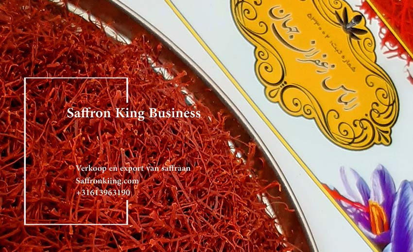 The largest exporter of saffron