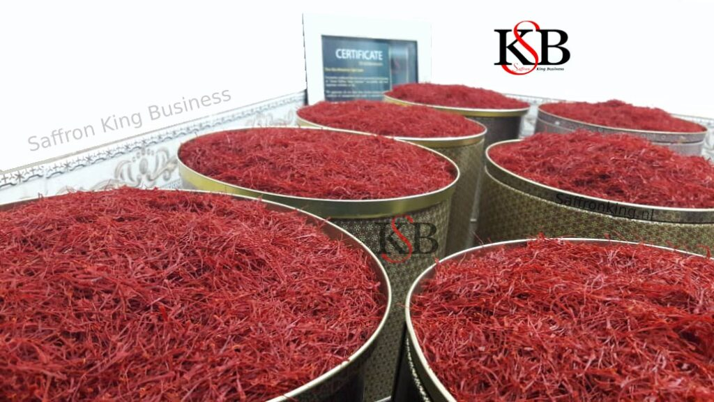 The reason for the difference in the selling price of saffron