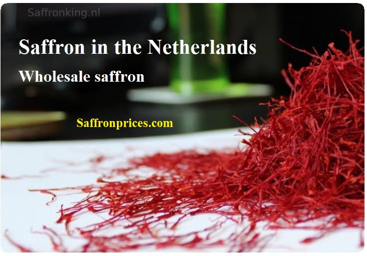 Major purchase of saffron in the Netherlands