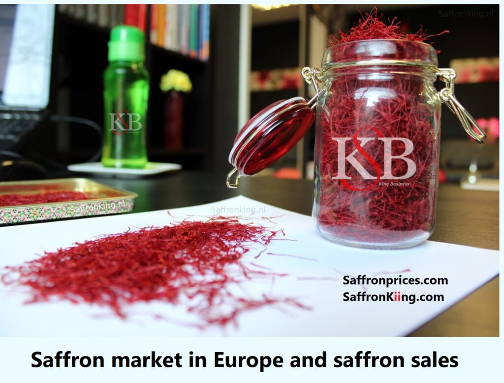 Saffron market in Europe and saffron sales
