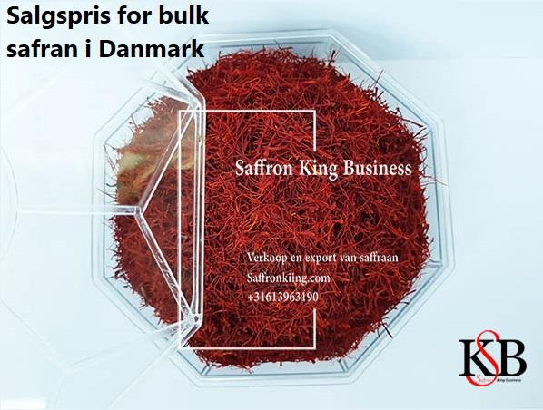 Salgspris for bulk safran i Danmark