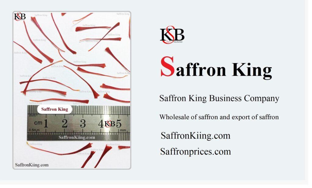 Exportation de safran vers l'Europe
