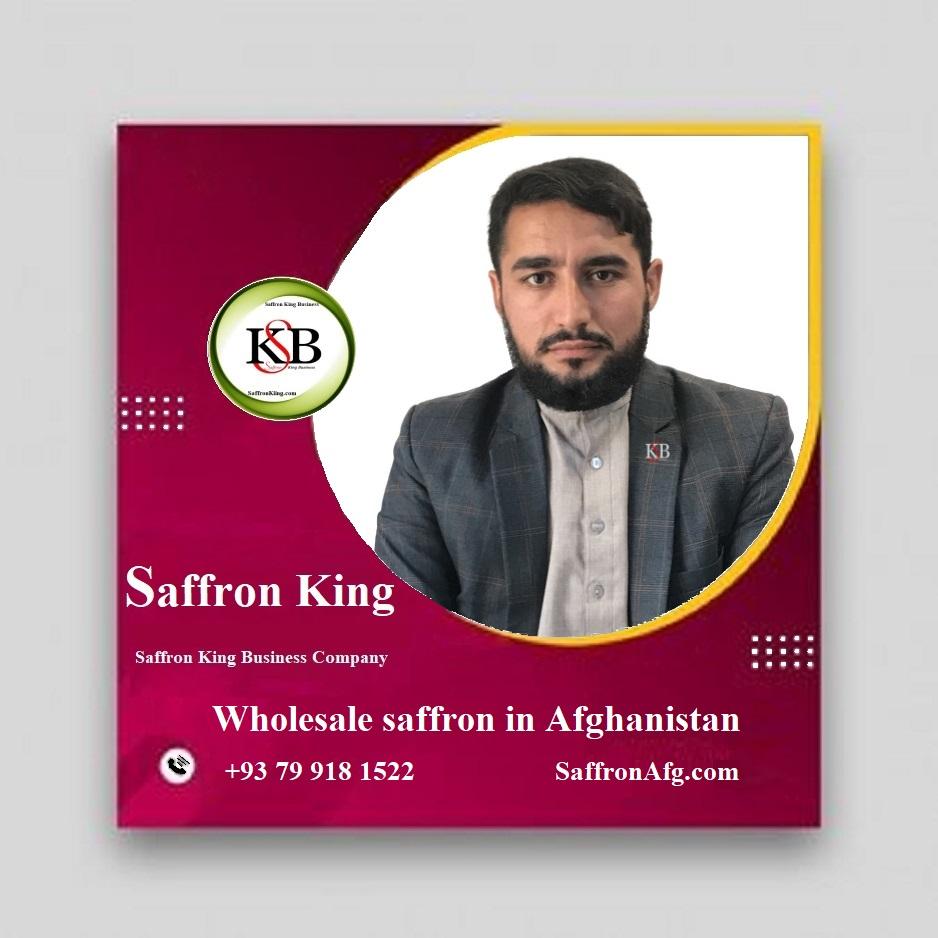 Wholesale saffron in Afghanistan