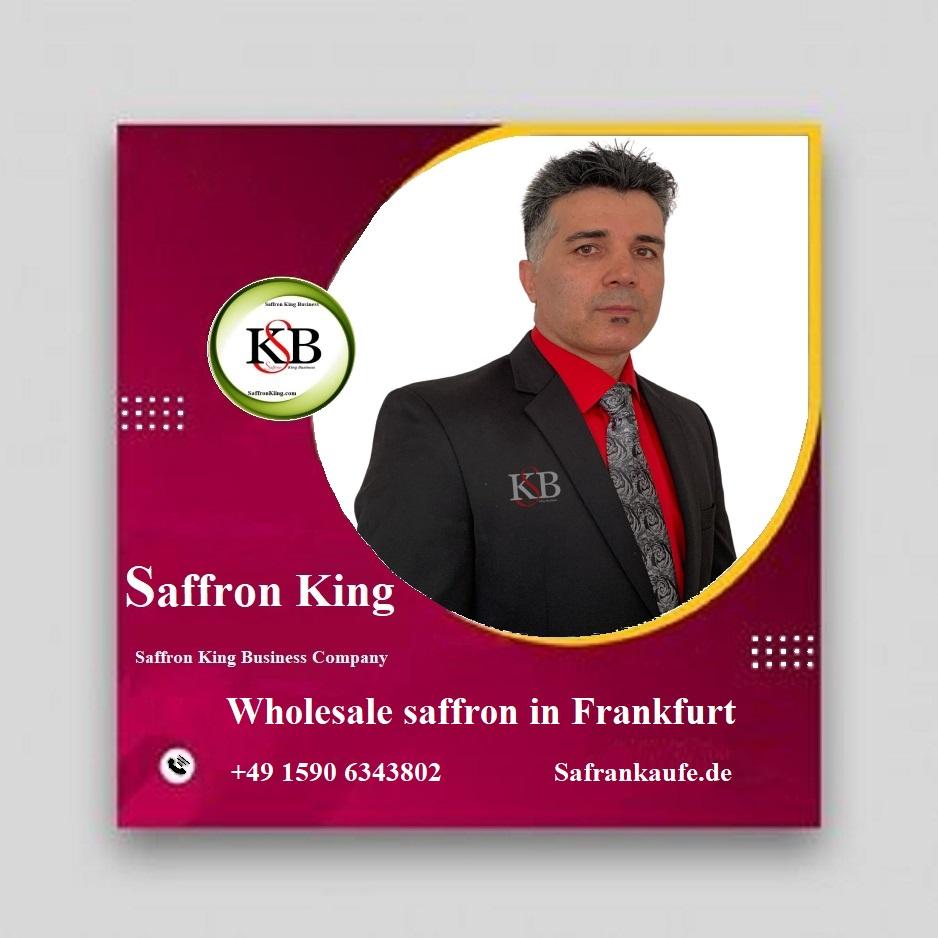 Wholesale saffron in Frankfurt