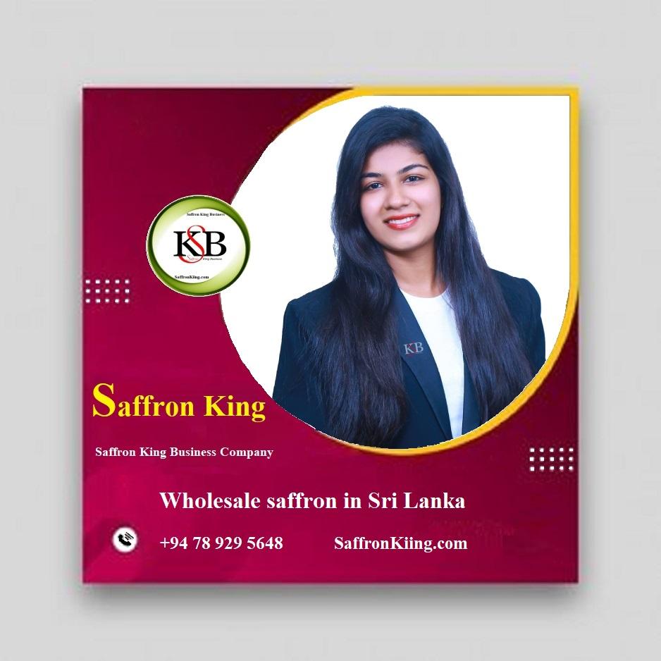 Wholesale saffron in Sri Lanka